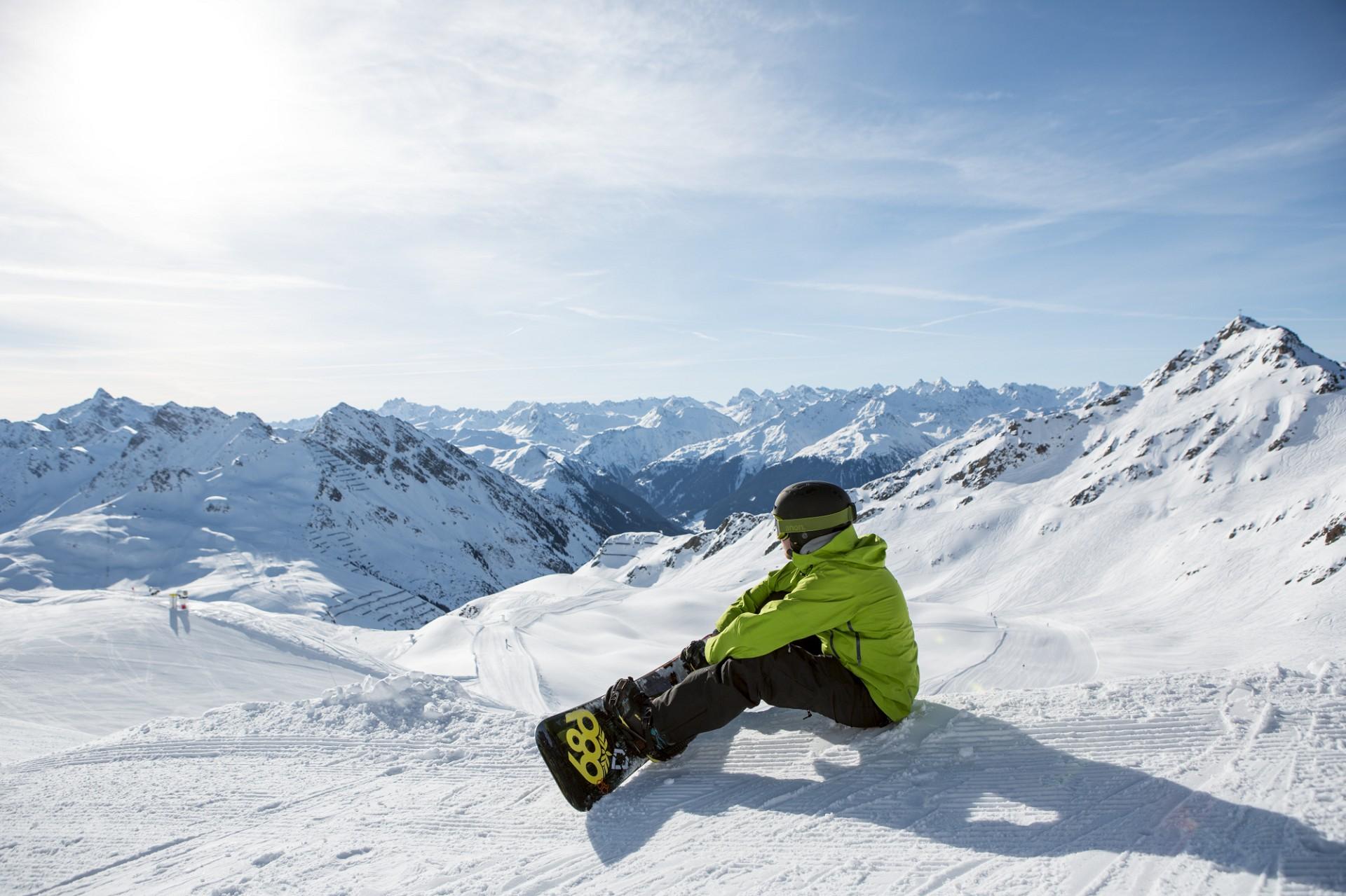 Snowboarden im Montafon (c) Daniel Zangerl - Montafon Tourismus GmbH, Schruns