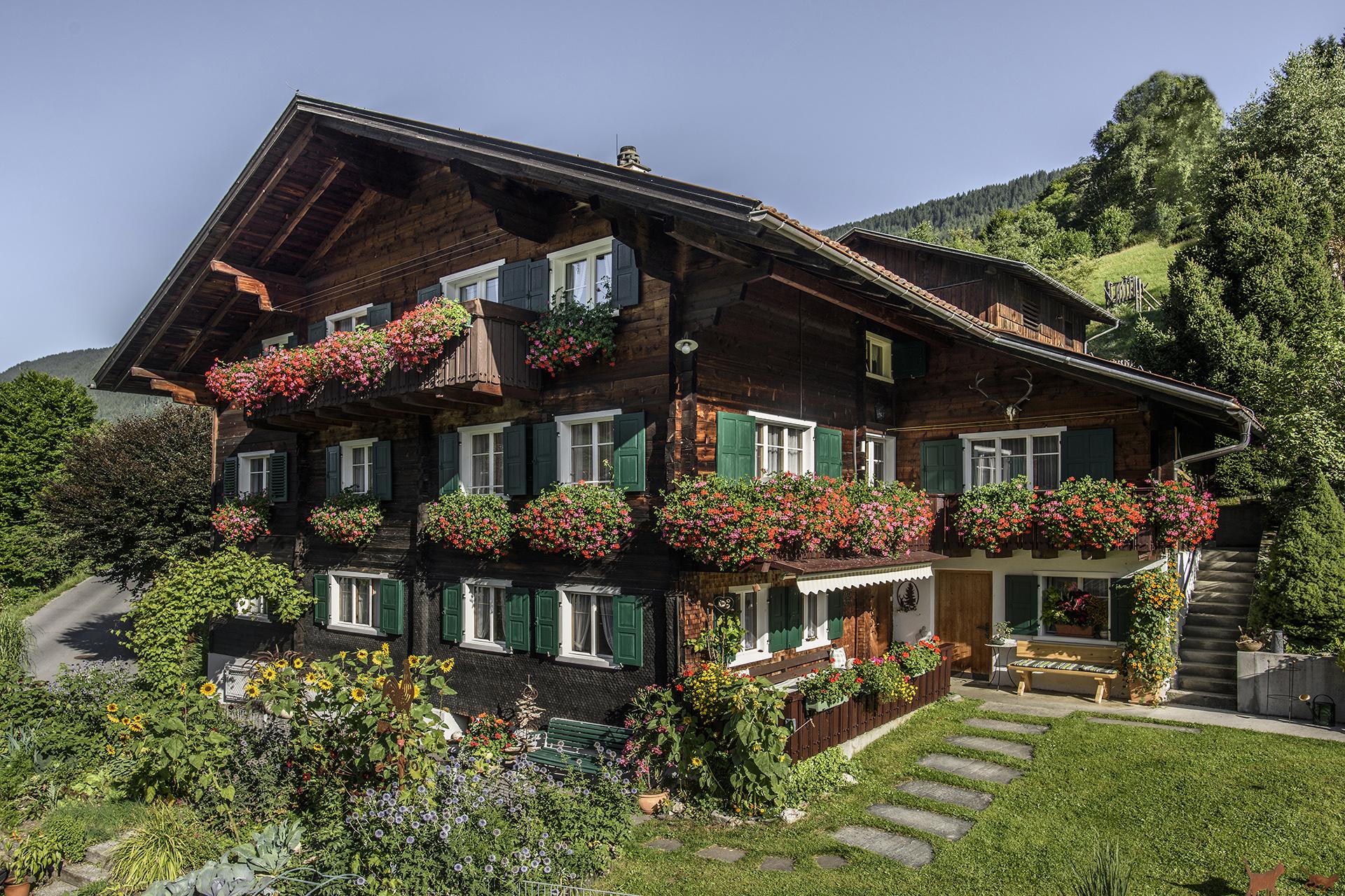Haus Berthold - Sommeransicht