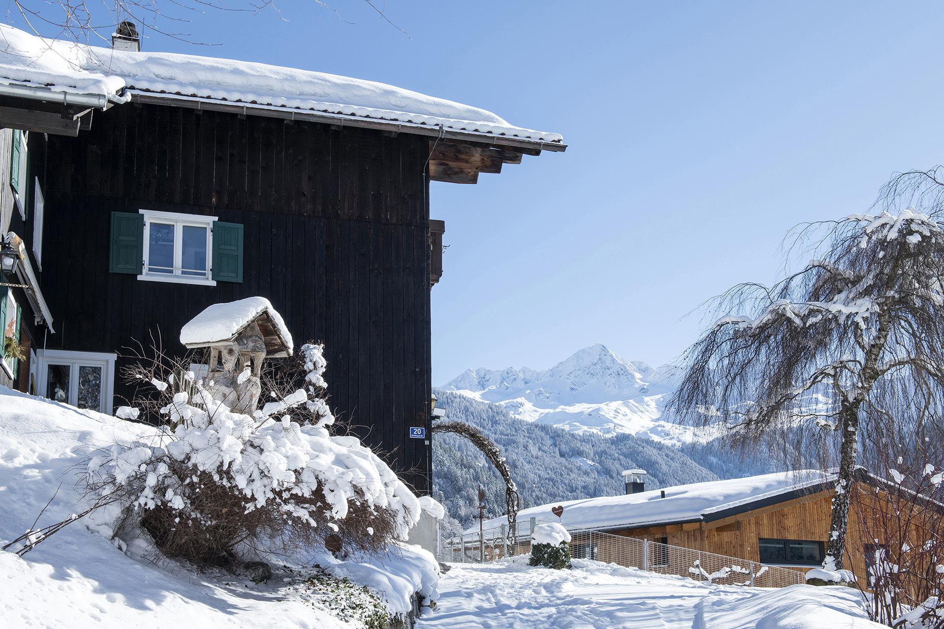 Haus Berthold - Winteransicht