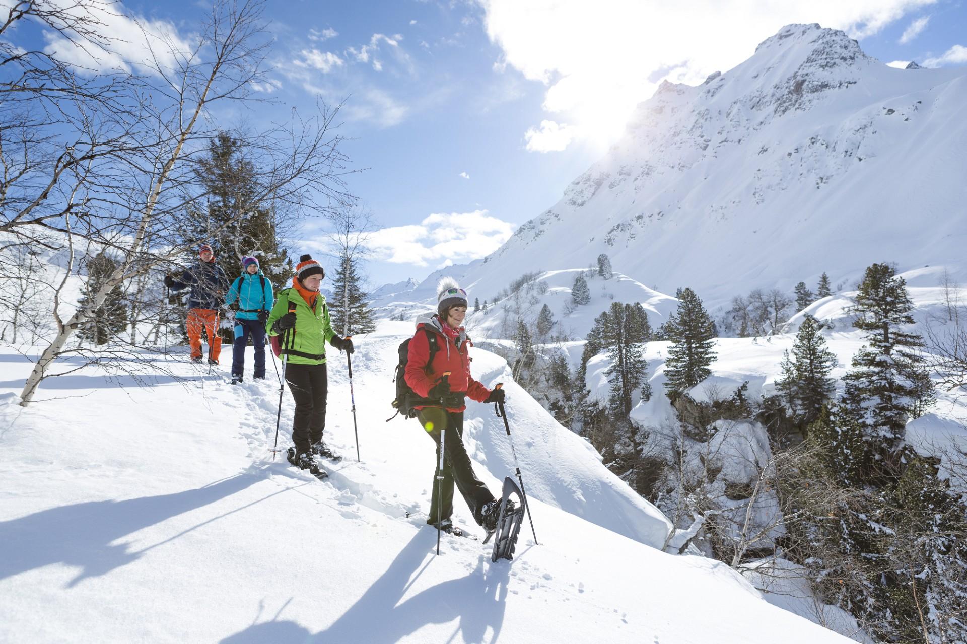 Schneeschuhwandern Bielerhöhe (c) Stefan Kothner - Montafon Tourismus GmbH, Schruns