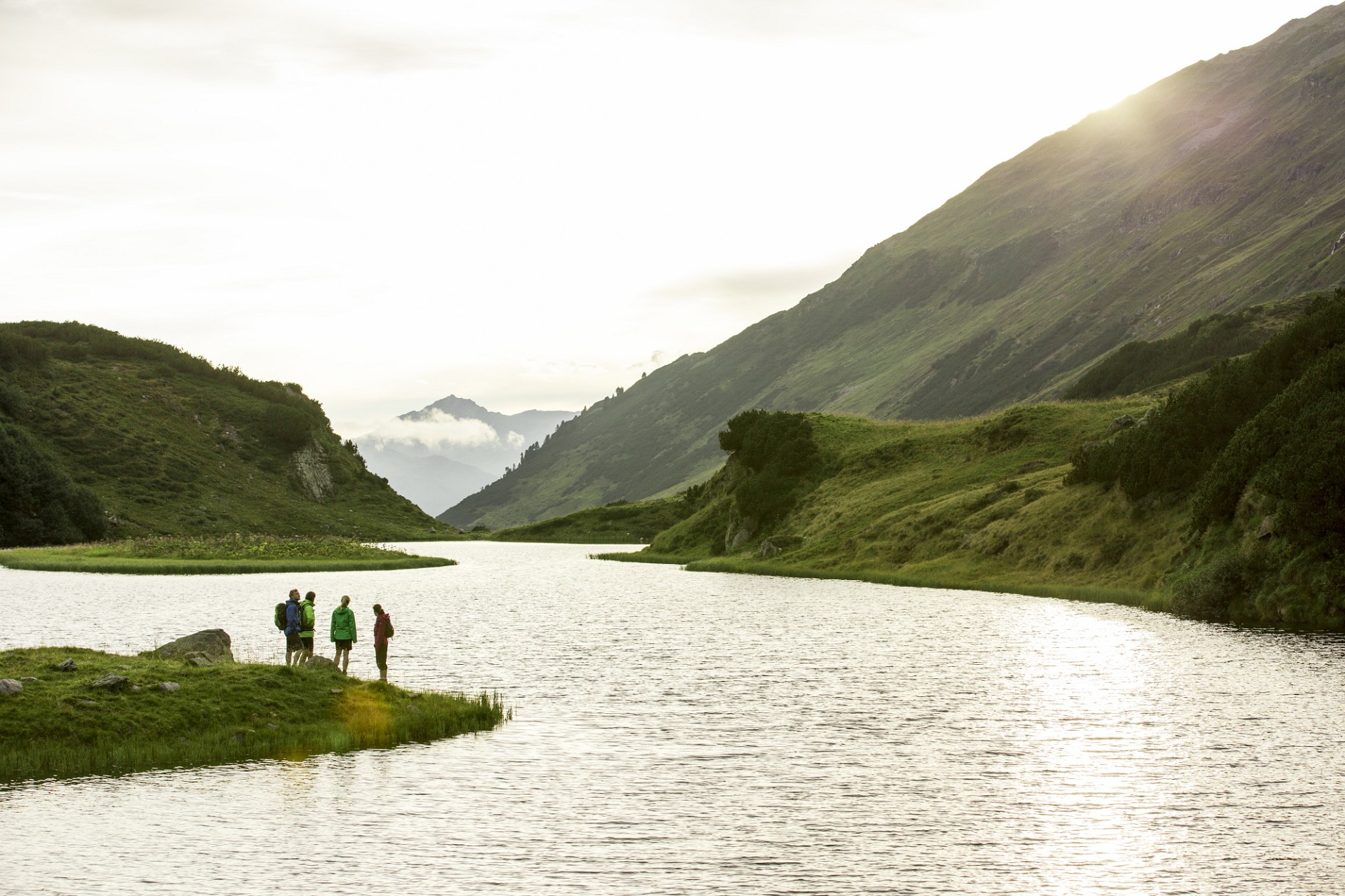 Wandern im Hinteren Silbertal (c) Daniel Zangerl - Montafon Tourismus GmbH, Schruns