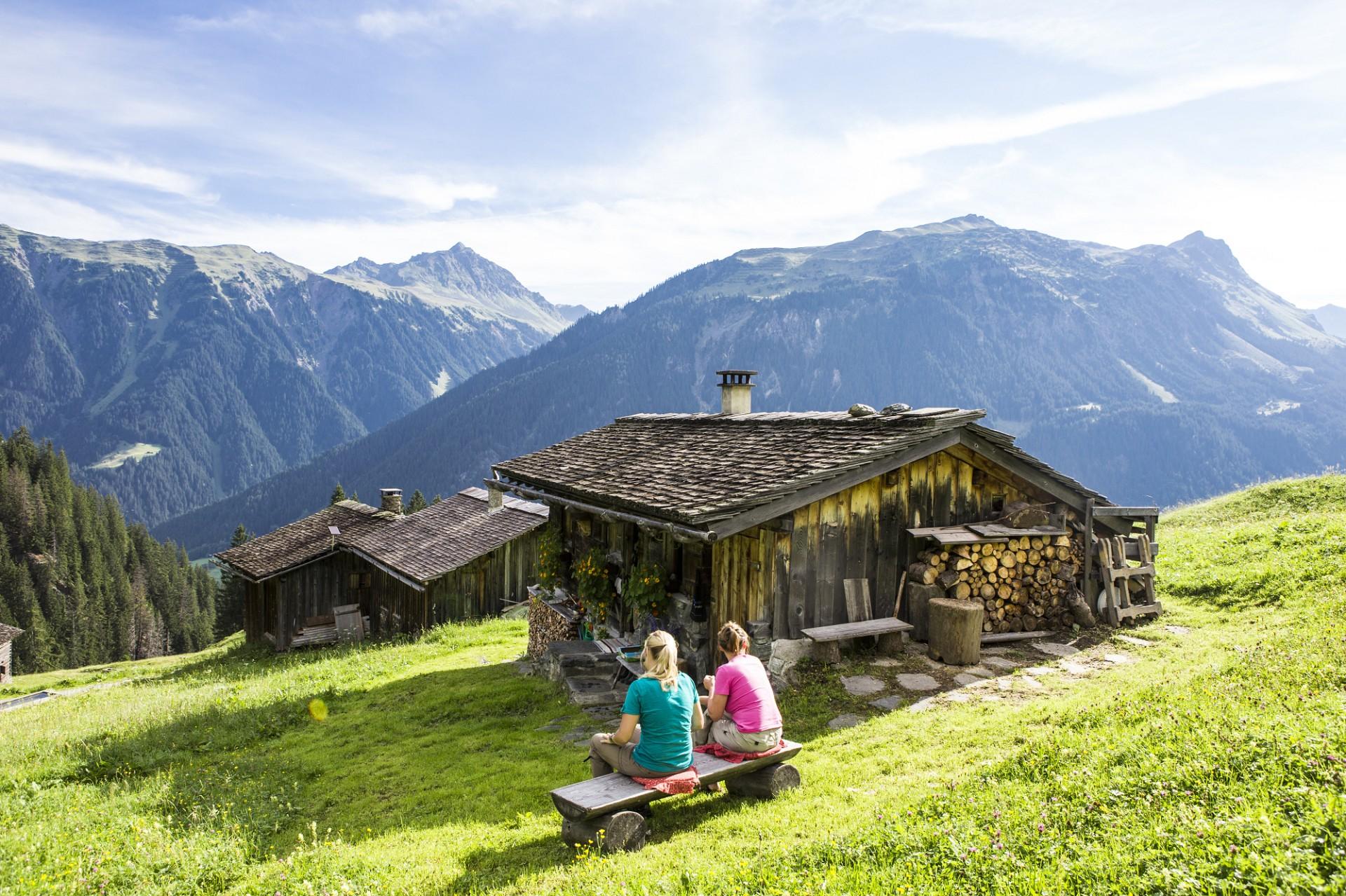 Wandern in Gaschurn (c) Daniel Zangerl - Montafon Tourismus GmbH, Schruns