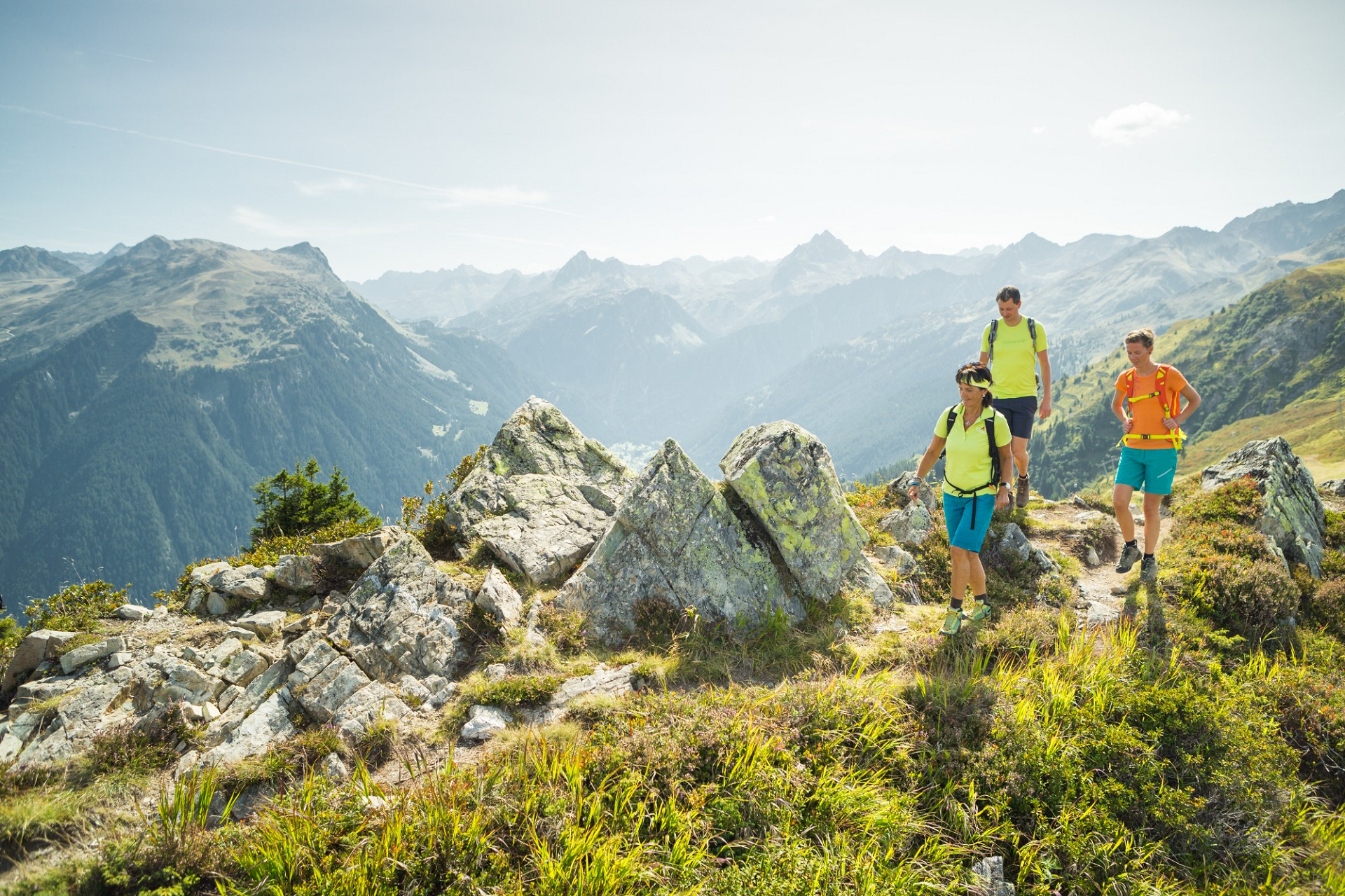 Wanderung über den Gantekopf zur Alp Nova (c) Stefan Kothner - Montafon Tourismus GmbH