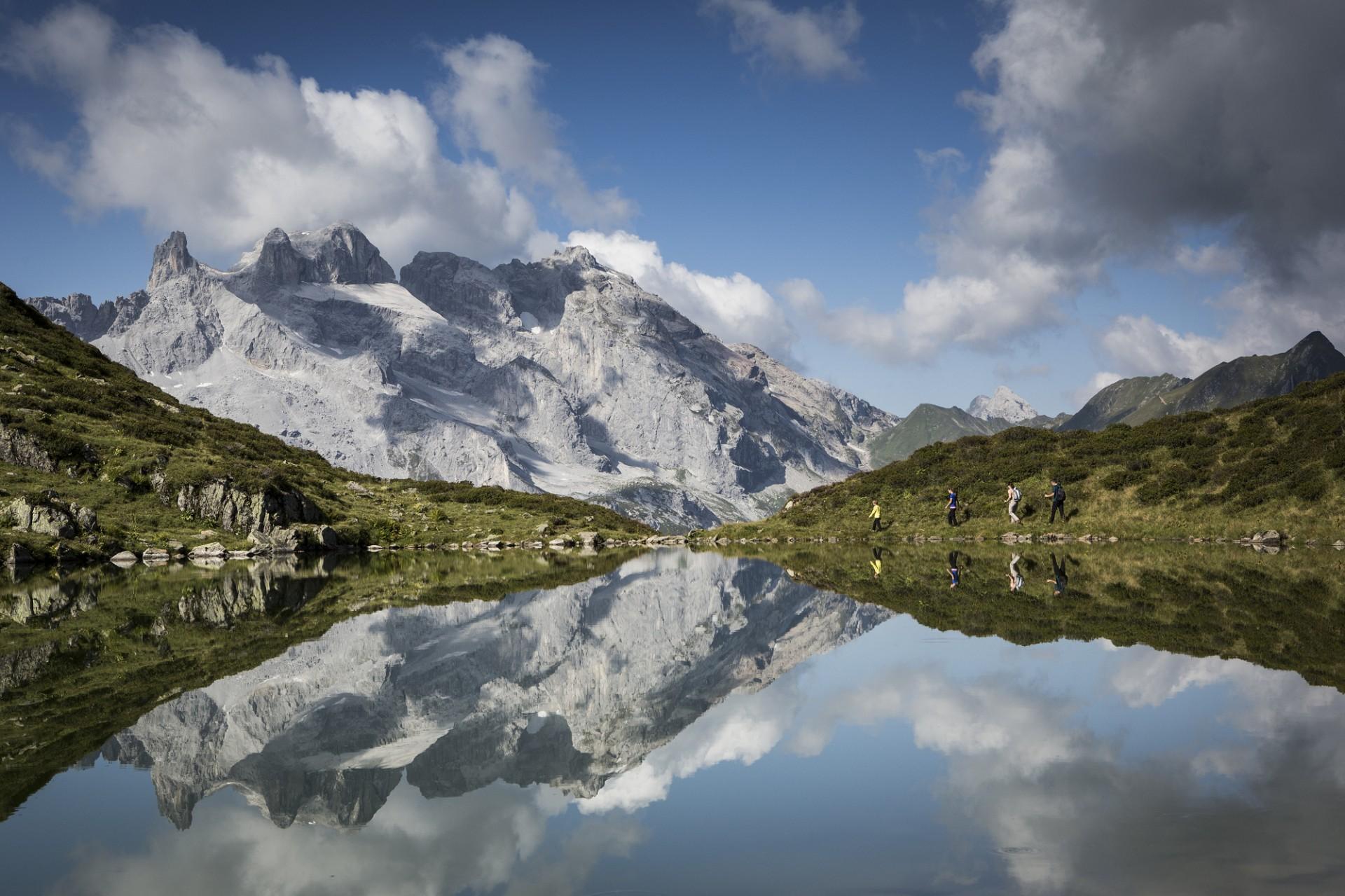 Wanderung zum Tobelsee (c) Daniel Zangerl - Montafon Tourismus GmbH, Schruns